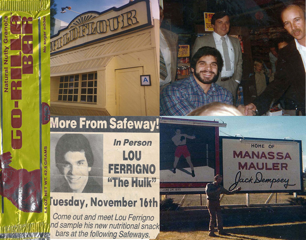 Lou Ferrigno - Safeways - Go-rilla bars