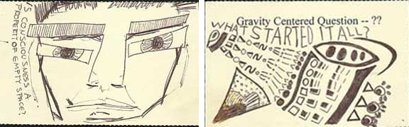 Conciousness and gravity-centred question - Not Far Away by Tim Weil - Stories and Songs