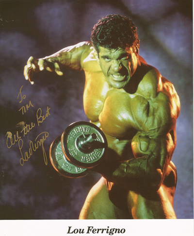 Lou Ferrigno - My Secret Life with Lou - Tim Weil