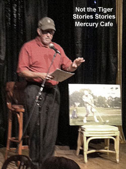 Not the Tiger by Tim Weil at the Mercury Cafe - Stories and Songs