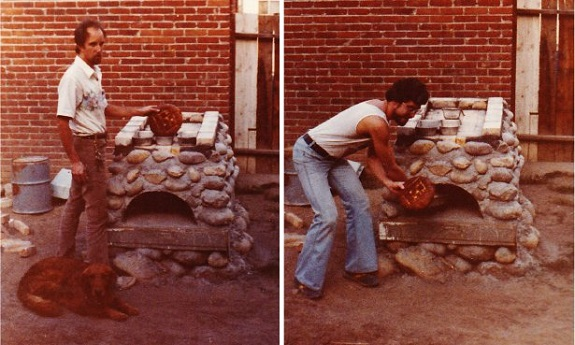 Outdoor oven construction - A Treat Tonight (une douceur ce soir)? by Tim Weil - Stories and Songs